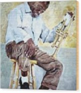 Louis Armstrong- Pops Wood Print