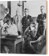Louis Buchalter At Murder Trial, Louis Wood Print by Everett