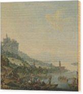 Louis Chalon Wood Print