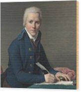 Louis David   Portrait Of Jacobus Blauw Wood Print