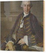 Louis-gabriel Blanchet Paris 1705 - 1772   Portrait Of A Gentleman Wood Print