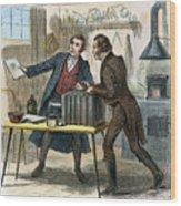 Louis J.m. Daguerre Wood Print