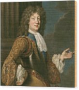 Louis Of France The Grand Dauphin Wood Print