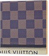Louis Vuitton Mens Wallet Wood Print