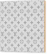 Louis Vuitton Pattern - Lv Pattern 14 - Fashion And Lifestyle Wood Print