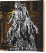 Louis Xiv By Bernini Wood Print
