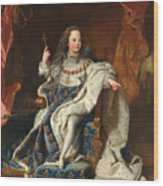 Louis Xv Of France As A Child Wood Print