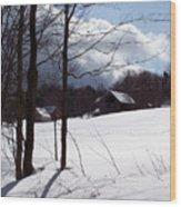 Louisen's Stowe 19 Wood Print