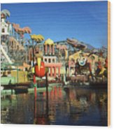 Louisiana Worlds Fair 1984 - New Orleans Photo Art Wood Print