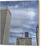 Louisville Blue Sky Wood Print