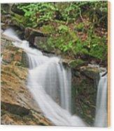 Louisville Brook - Bartlett New Hampshire Wood Print