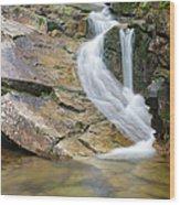 Louisville Brook - Bartlett  New Hampshire Usa Wood Print