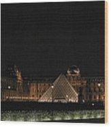 Louvre Wood Print