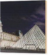 Louvre Museum 2 Art Wood Print
