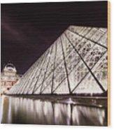 Louvre Museum 4 Art Wood Print