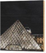 Louvre Museum 6 Art Wood Print