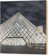 Louvre Museum Art Wood Print