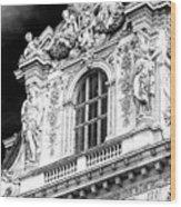 Louvre Palace Window Paris Wood Print