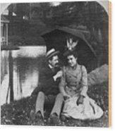 Love, 1900 Wood Print