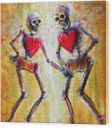 Love 2 Love Wood Print