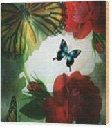 Love Blossoms Wood Print