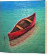 Love Boat Wood Print