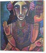 Love For Lakshmi Wood Print