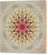 Love From Within Mandala Wood Print