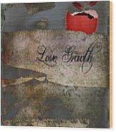 Love Growth - V2t1 Wood Print