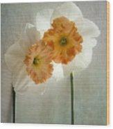 Love In Bloom Wood Print