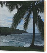 Love Is Eternal - Poponi Maui Hawaii Wood Print