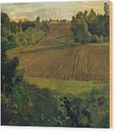 Love Island 1900 Konstantin Andreevich 1869-1939 Somov Wood Print