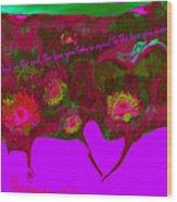 Love No. 4 Wood Print