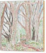 Love Of Nature Wood Print