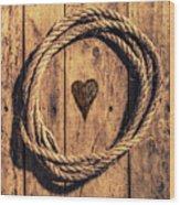 Love Of The Sea  Wood Print
