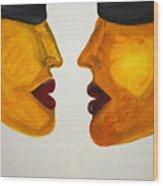 Love-on-line Wood Print