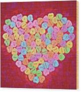 Love Songs 3 Wood Print