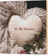 Love Victorian Style 2 Wood Print