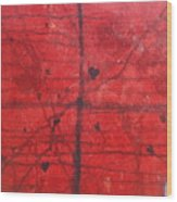 Love Went Right Out The Window Wood Print