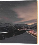 Loveland Pass Summit Wood Print