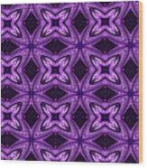 Lovely As A Purple Thought Wood Print