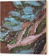 Lovely Hair Tile Wood Print