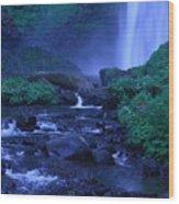 Lovely Latourell Falls Wood Print