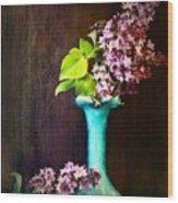 Lovely Lilacs Wood Print