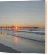 Lovely Morning In Avalon Wood Print