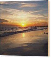 Lovely Sunset Wood Print