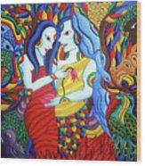 Lover Wood Print