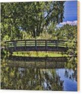 Lovers Bridge Wood Print