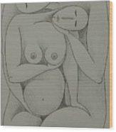 Lovers IIi  2006 Wood Print