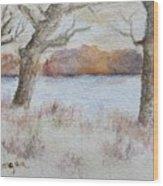 Lovers' Lake Wood Print